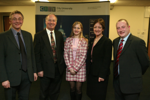 E-Learning Unit Launch January 2004 including Susannah Quinsee and Brendan Casey