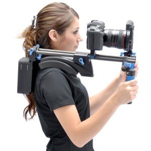 A dSLR camera rig