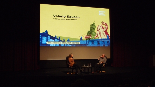 Valerie Kausen interviewed by Professor Paul Wells