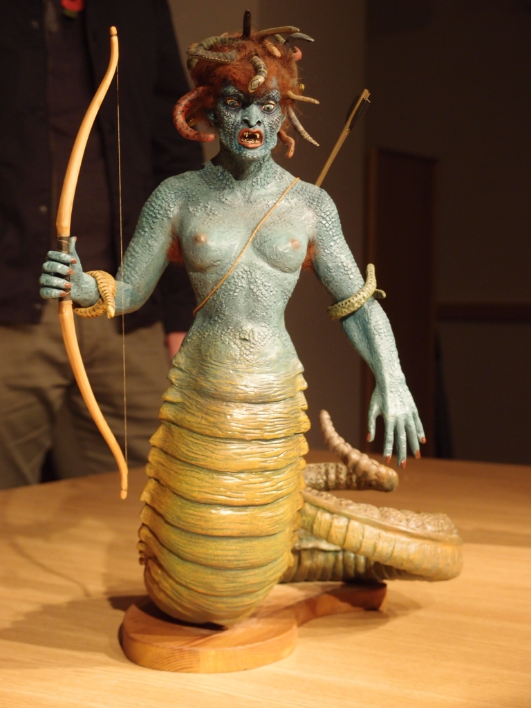 Medusa puppet by Ray Harryhausen
